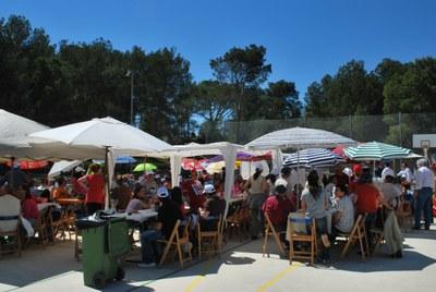 La paella popular és un dels centres d'interès de la festa