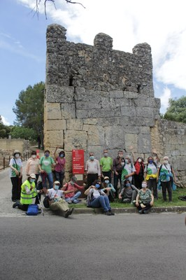 Aquest dissabte el Cercle de Voluntaris dels Parcs Naturals desbrossarà l'entorn del Pla dels Albats