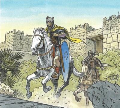 """Aquest dissabte es presenta a la Trobada d'Olèrdola el còmic """"Olèrdola 1058. Terra de frontera"""""""