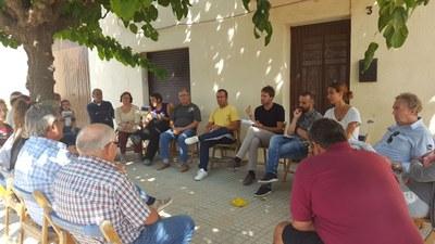 Aquest dissabte s'han reprès a Can Torres les reunions veïnals convocades per l'alcalde