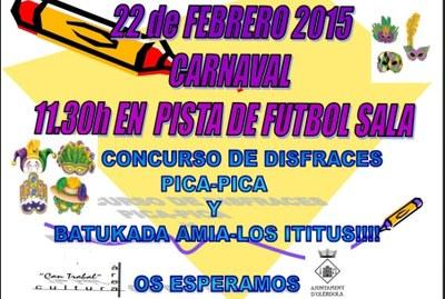 Aquest diumenge Can Trabal fa el seu Carnaval amb concurs de disfresses i batukada