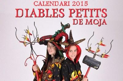 Aquest diumenge els Diables petits de Moja posen a la venda el seu calendari