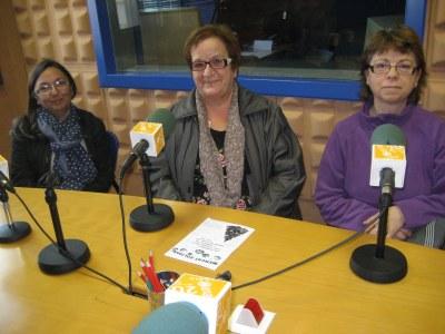 Anna Molero, Blasa Fernández i Àngles Clua
