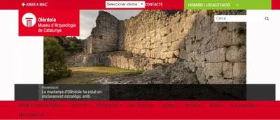 Aquest diumenge es podrà fer una visita virtual guiada en directe per la seu d'Olèrdola del Museu d'Arqueologia
