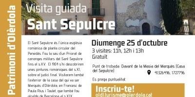 Aquest diumenge es pot visitar el Sant Sepulcre d'Olèrdola