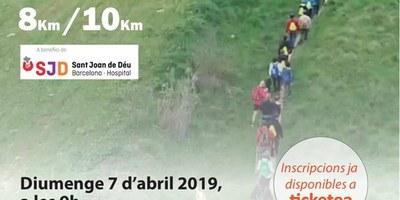 """Aquest diumenge Olèrdola acollirà la 3a caminada  solidària """"Caminem per tu Pol!"""""""
