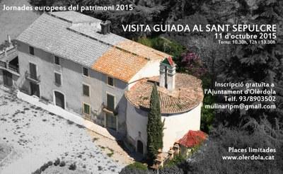 Aquest diumenge s'han programat visites guiades gratuïtes al Sant Sepulcre