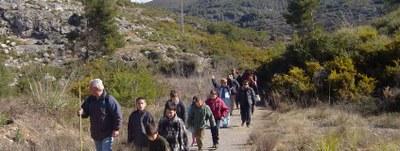 """Aquest diumenge tornen les activitats de dinamització al Parc d'Olèrdola amb la ruta """"Una muntanya d'històries"""""""