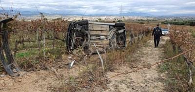 Imatge d'un dels accidents de les darreres setmanes