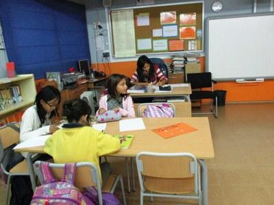 Aquesta setmana s'ha reprès el servei de Biblioteca Oberta a les escoles d'Olèrdola