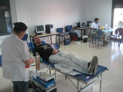 Les donacions a Sant Pere es feien al Centre Cívic Gatzara