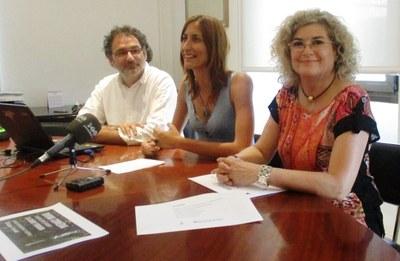 Antoni Madueño, Arantxa Torres i Assumpta Esquí