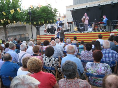 El concert del grup Trams tancava la Festa Major