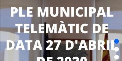 Avui hi ha sessió de ple de l'Ajuntament d'Olèrdola per videoconferència