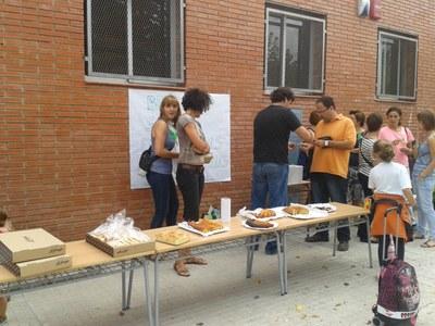 Berenar solidari a l'escola Circell en suport a la vaga del professorat de les Illes Balears