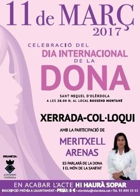 Bon ritme d'inscripcions al sopar de dissabte per commemorar a Olèrdola el 8 de març