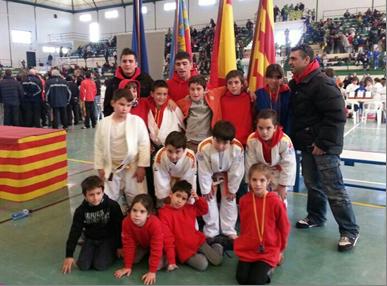 Grup del Judo Olèrdola a Ontinyent