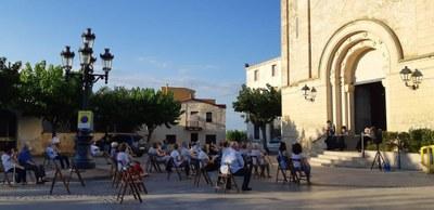 Bona resposta de públic en els primers actes de la Festa Major de Moja