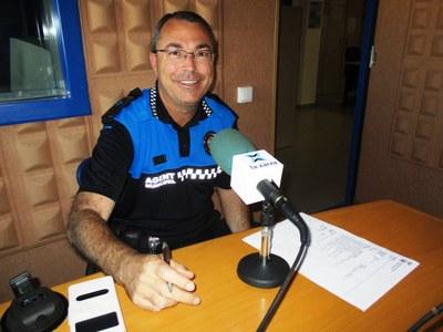 Josep Miquel Escofet, coordinador dels agents municipals