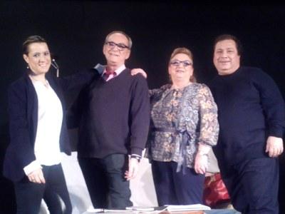 """Bones sensacions en l'estrena de l'obra """"Maror o les regles del gènere"""" del grup l'Arrel"""