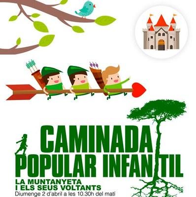 Bosc Verd organitza per aquest diumenge una caminada popular infantil pels voltants de La Muntanyeta