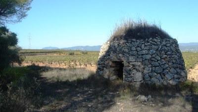 Caminada guiada gratuïta per les barraques de pedra seca d'Olèrdola aquest dissabte
