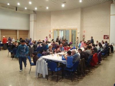 Els dinars populars, entre les activitats més freqüents que es fan a Sant Miquel