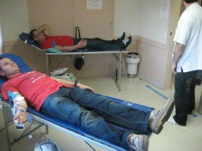Campanya de donació de sang a Moja