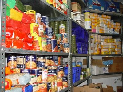 Campanya solidària de recollida d'aliments a Olèrdola