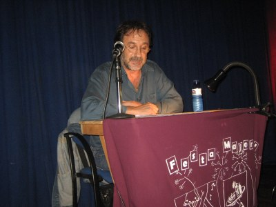 Carles Álvarez, en un moment del pregó