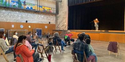"""Celebració especial de Sant Jordi a Moja amb activitats de """"pinta-guixos"""" i  lectura en veu alta"""