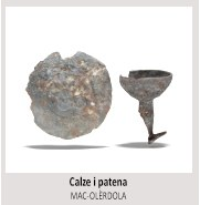 Cinc peces emblemàtiques del jaciment d'Olèrdola es difondran en 3D per internet