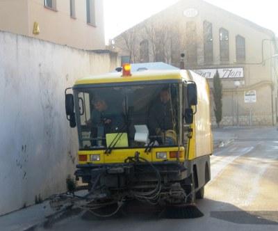 CiU criticava el procés d'adjudicació de la neteja viària.(imatge d'arxiu)