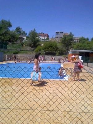 La piscina ha estat oberta de Sant Joan al 9 de setembre