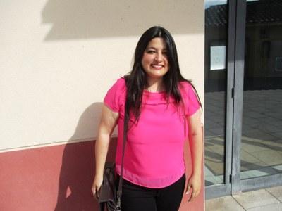 Vanesa López, regidora de CiU