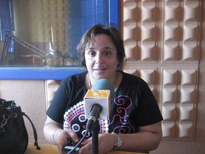 Mari Carme Villanueva, regidora del grup de CiU