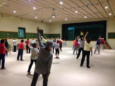 Comença a Olèrdola un nou curs de gimnàstica per a gent gran amb una seixantena d'inscrits