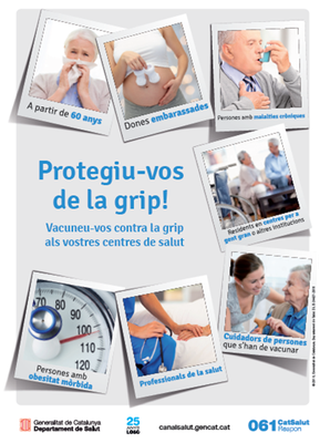 Comença la campanya de vacunació contra la grip amb la previsó d'administrar a Olèrdola 400 vacunes