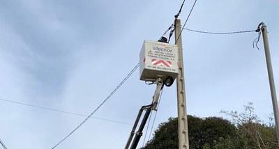 Comença la instal·lació de leds a l'enllumenat públic de Daltmar, Sant Miquel i Sant Pere Molanta