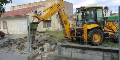 Comencen els treballs previs a les obres de construcció del nou consultori de Moja