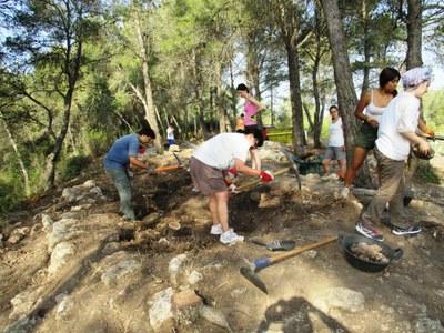 Comencen les excavacions arqueològiques al Pla dels Albats