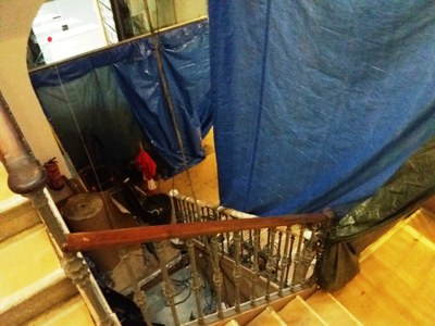 Comencen les obres d'instal·lació d'un nou ascensor a l'edifici de l'ajuntament d'Olèrdola