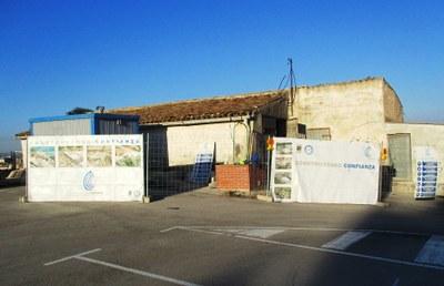 Comencen les obres de reforma de l'edifici de la Pallissa de Moja com a magatzem municipal