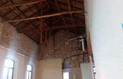 Comencen les obres de reforma i ampliació de l'edifici de l'Ajuntament d'Olèrdola