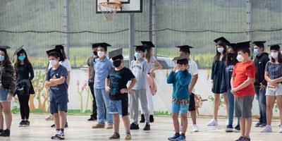Comiats excepcionals als alumnes de 6è de les escoles d'Olèrdola