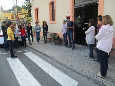 Concentració a Olèrdola per exigir la llibertat de Jordi Sànchez i Jordi Cuixart