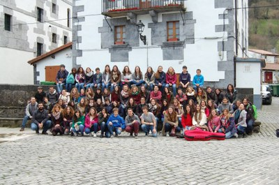 Clau de Sons va visitar el País Basc durant el primer cap de setmana d'abril