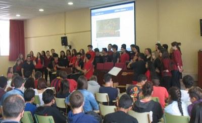 Concert de Nadal a l'església de Moja amb la Coral de l'Institut Eugeni d'Ors