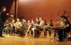 """Concert de Sant Macari a Moja amb el """"Taller de Vent"""" de l'escola de música de Vilafranca"""