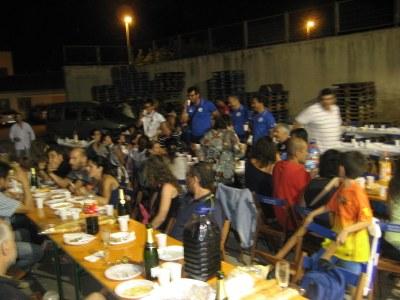 Base Olèrdola i Fermo compartien sopar de germanor divendres